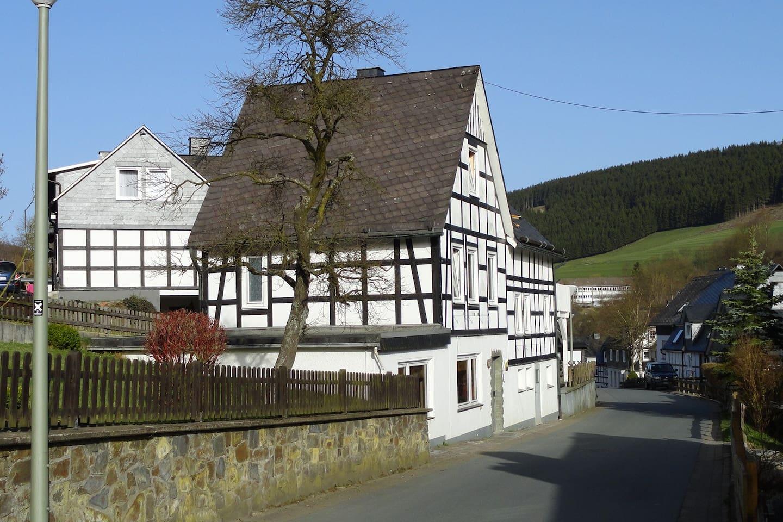 Vakwerkhuis in romantisch Schmallenberg Westfeld