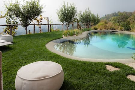 Villa with pool and panoramic view - Asolo - Talo