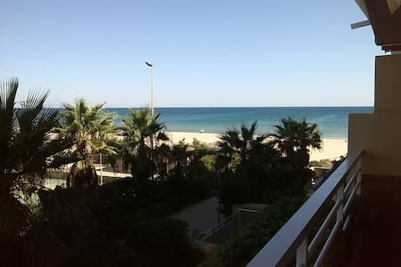 Apartamento tranquilo frente al mar
