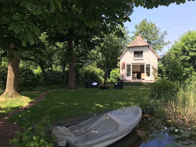 Holiday house at  lake - Reeuwijk - Kabin