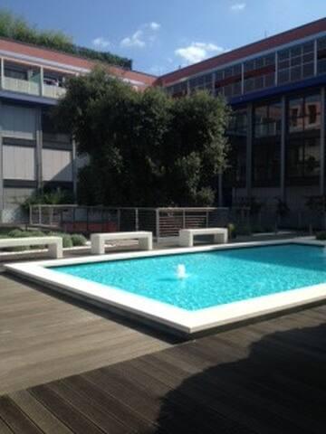 an English corner in Turin - Turijn - Appartement