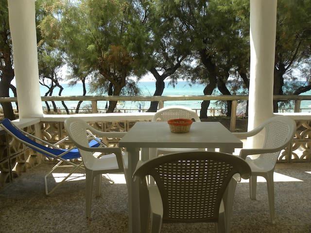 Appartamenti sul mare del Salento - Torre Ovo - Leilighet
