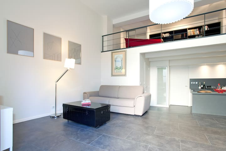Cosy loft + garden centrally located - Arles - Loft