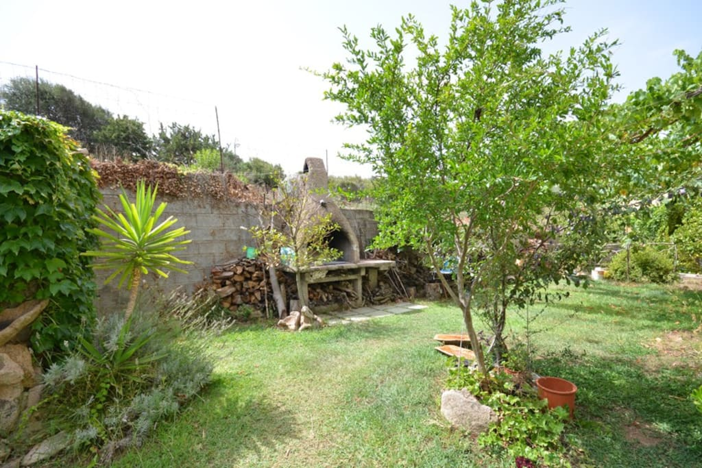 Parziale giardino
