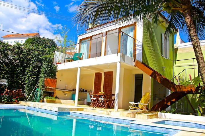 Rio Gaia Santa - Guesthouse w/ Waterfall Salt Pool - Rio - Pension