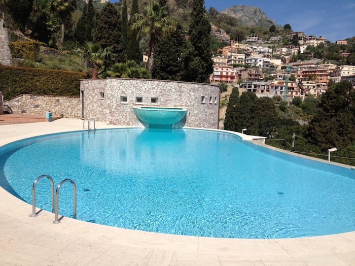 BellaVista Taormina Apartment & Pool