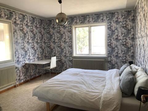 Double bedroom in Lapland village