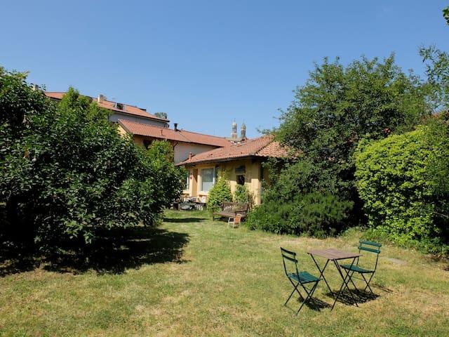 Studio, nice garden, Navigli channels