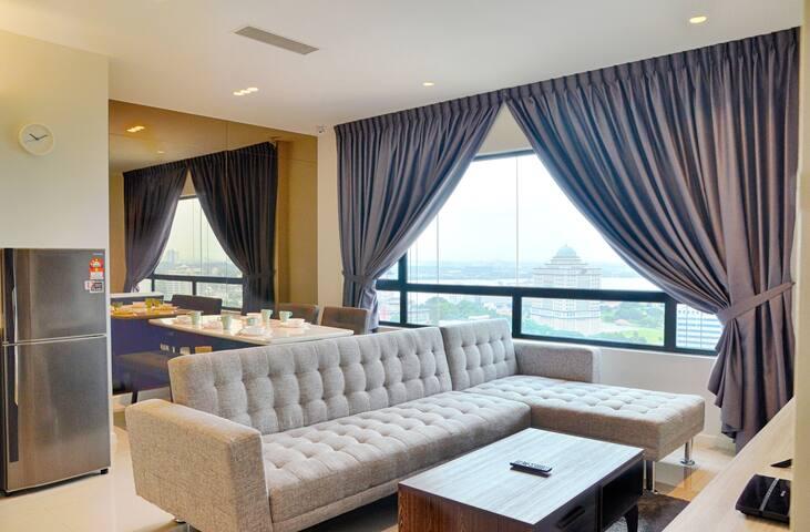 Johor Bahru<< Suasana Suite>> Near City Square^^