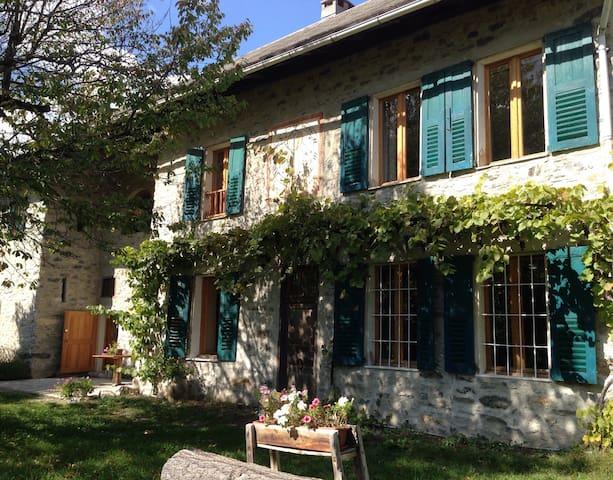 Chambre de charme Barcelonnette - Les Thuiles - ที่พักพร้อมอาหารเช้า