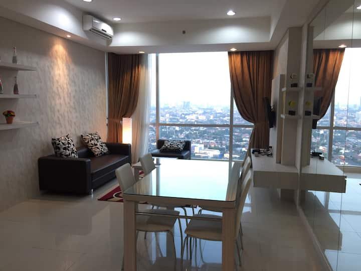 Modern 3BR Apt in Kemang, Jakarta