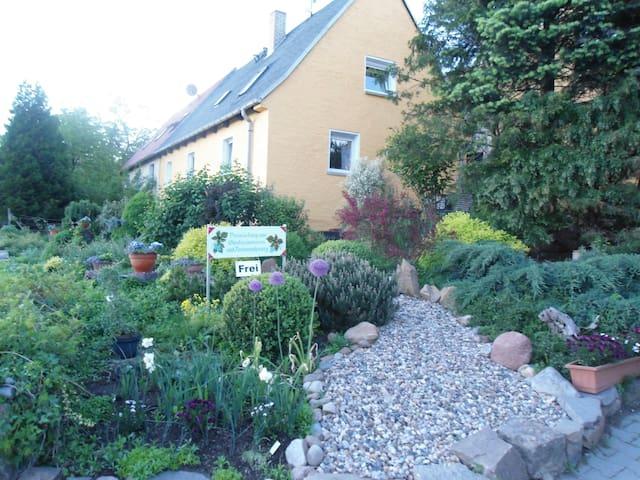 Stilvolle Ferienzimmer in altem Winzerhaus - Nünchritz - Ev