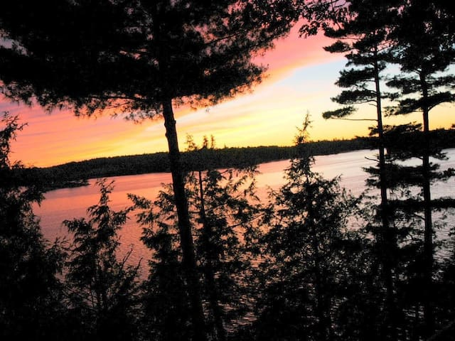 Amazing Sunsets Overlooking the St. Lawrence River