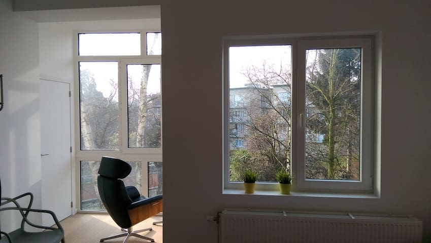 Cosy apartment close to the park - Antwerpen - Apartment