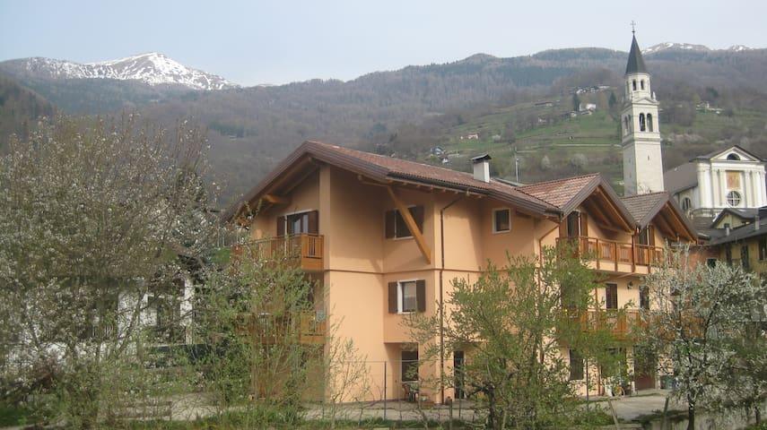 Bilocale al piano terra - Roncegno Terme - Apartment