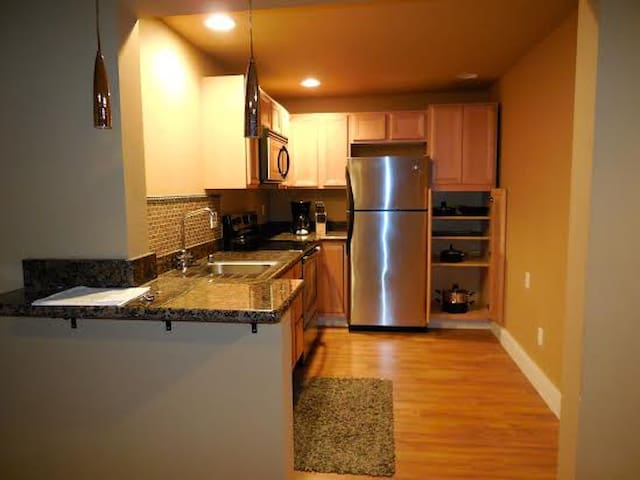 Fully Furnished 1Br Apt with W/D