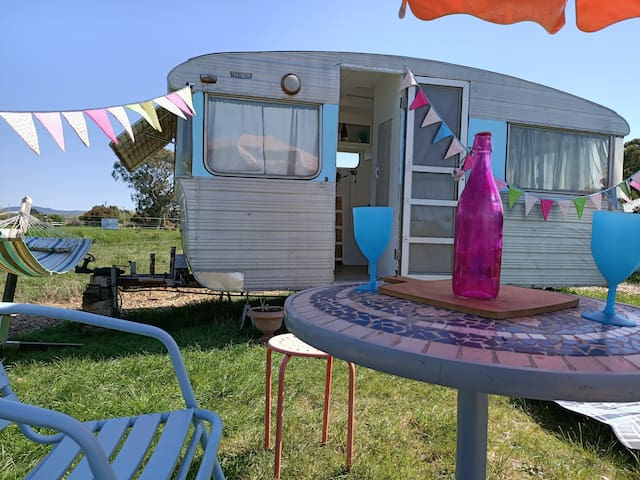 Jane the Vintage Caravan @ 175 Hearts Haven