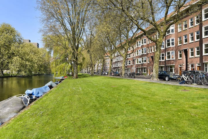 Spacious canal view apartment
