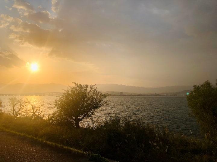 琵琶湖すぐのオーベルジュ BIWA  お一人かお二人にお勧め宿泊