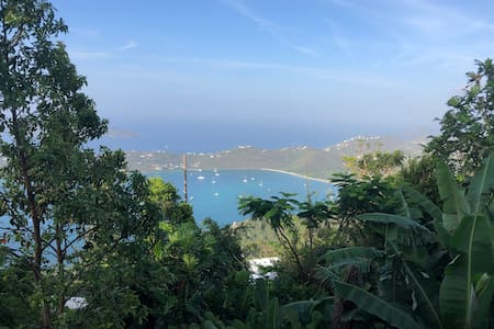 St. Thomas Island Hide Away with a view.