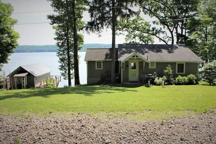 Cayuga Lake Cottage plus a Charming Guest House