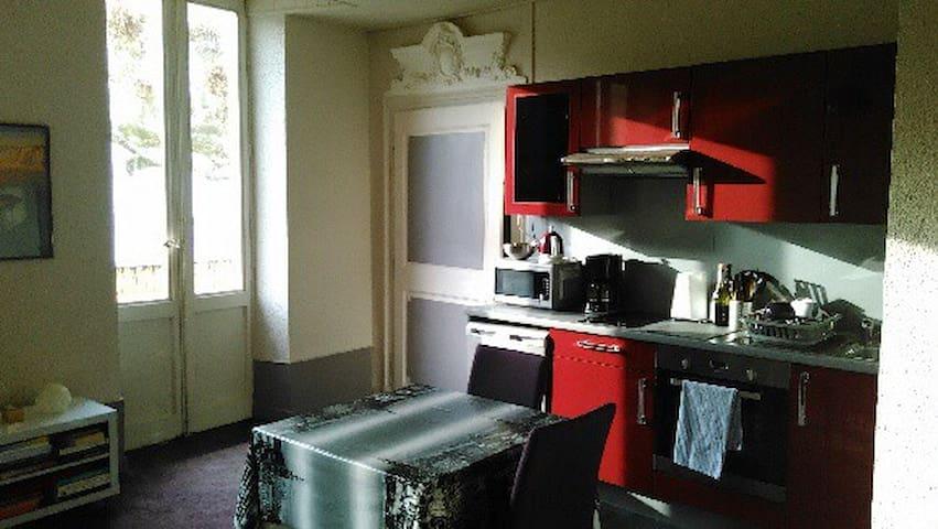 Appartement meublé pour curistes - Aix-les-Bains - Apartemen