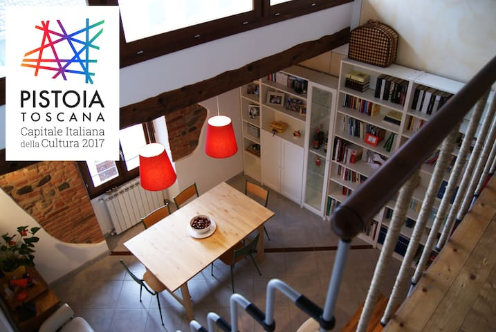 Fascinating Apartment in Pistoia's old town centre - Pistoya - Casa