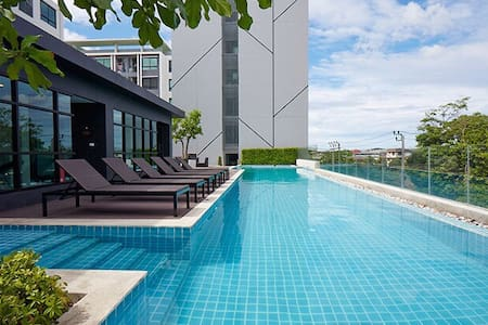 1BR Cozy Room/7Mins BTS/Near Shopping Malls - Bangkok