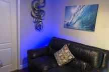 Comfy gaming area
