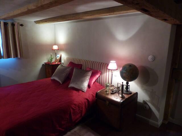 Les Lettres de mon Moulin, chambre Jules-Verne