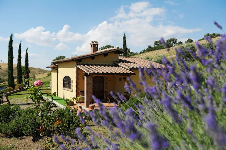 Cottages in Tuscan Country (Quadrifoglio)