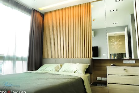 1 Br. Luxury Sky View MRT Samyan - Bang Rak  - Departamento