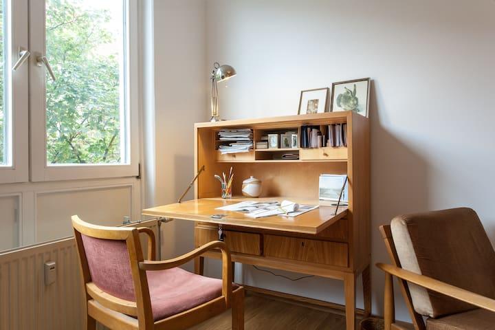Bureau in guest room