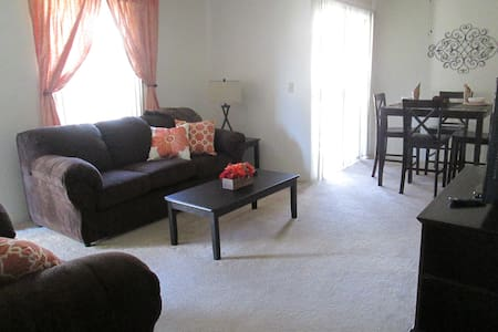 luxury furnished 2bed/2 bath apt - Bakersfield - Daire