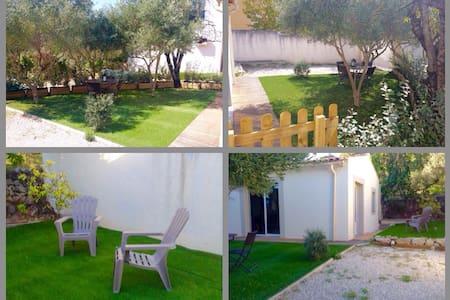 Studio lumineux avec jardin - Marignane - บ้าน