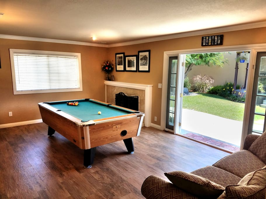Pool Table for your enjoyment!