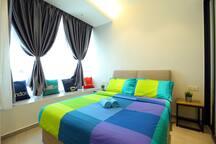 Spacious Bedroom 1
