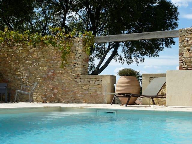 Maison vigneronne du 18 ème siècle - Boissières - Lägenhet