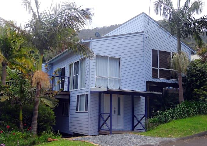 Jacaranda House where beach meets rainforest