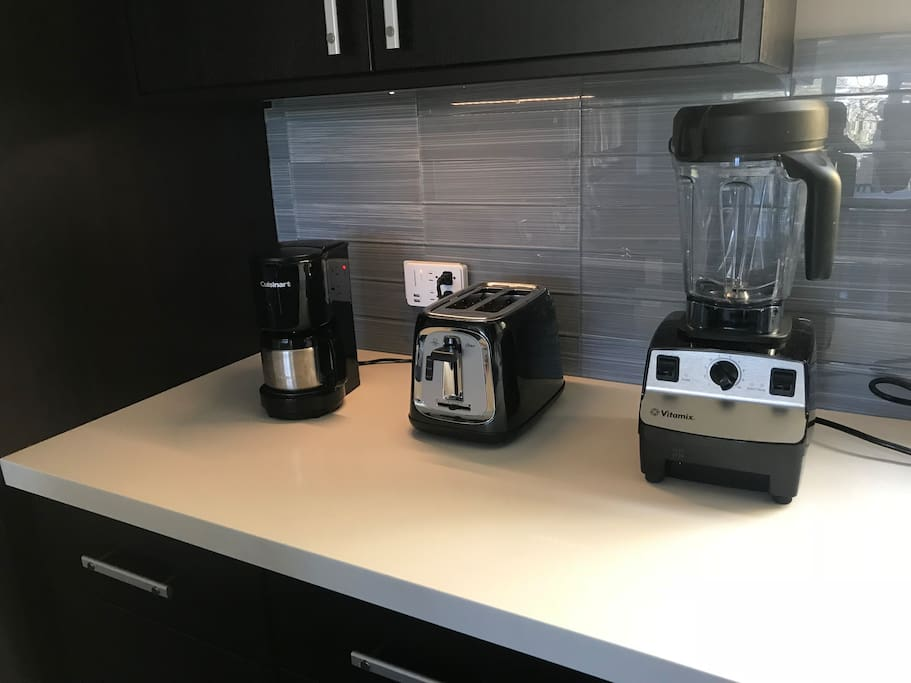 Kitchen equipped with most appliances