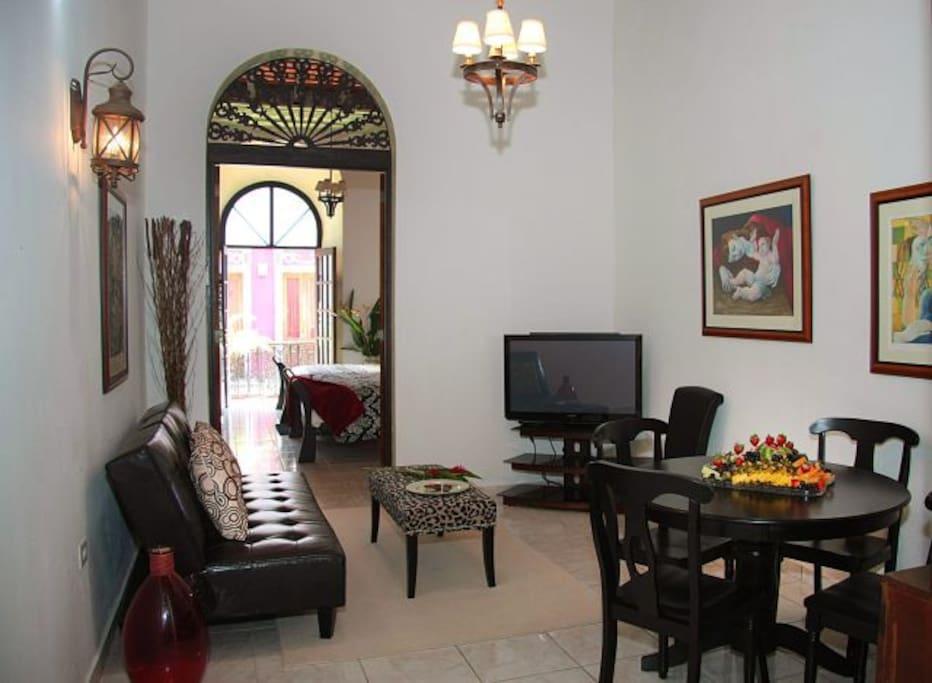 Fortaleza suite at old san juan flats for rent in san juan san juan puerto rico for 2 bedroom suites san juan puerto rico