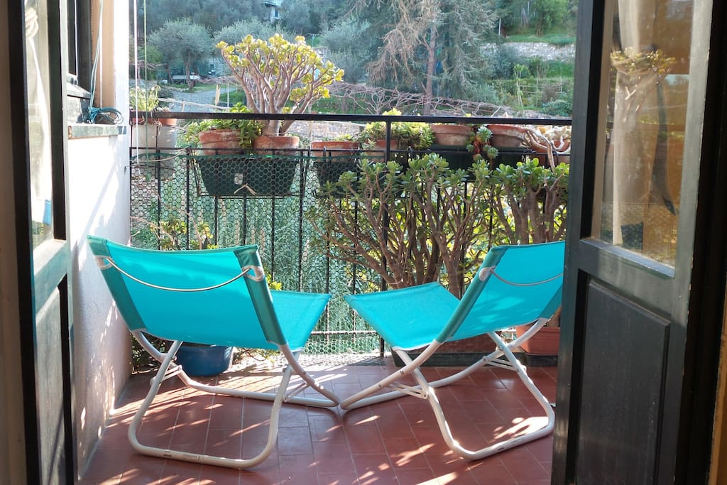 IrisBlu terrazzino/View from the balcony