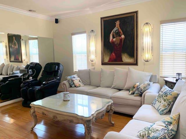 蒙市舒心清静3房2浴整套出租 Beautiful home at Monterey Park