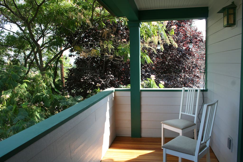 large front covered porch with views