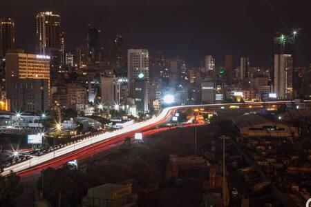 Beirut  'Port-View' Loft