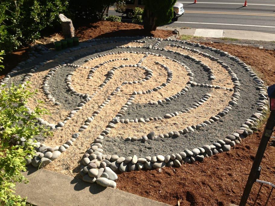 Front Yard Labyrinth