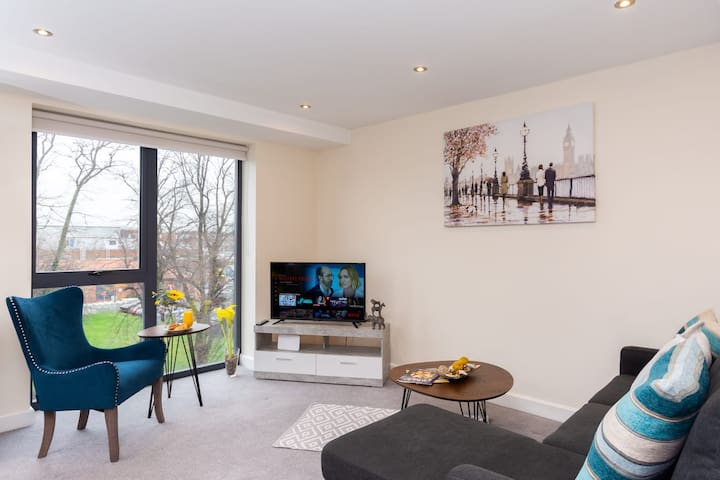 Luxury York Centre Apartment Free Gated Parking