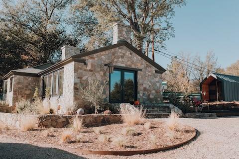 Stone Acres Soho inspired Stone house in SoCal