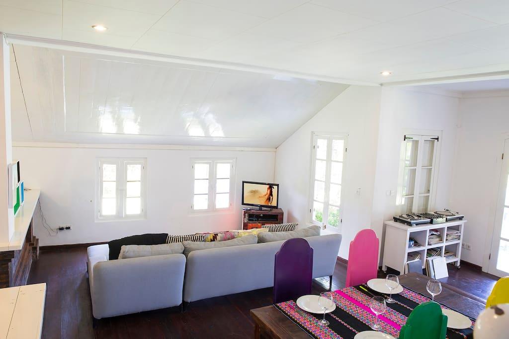 Designer styled lounge