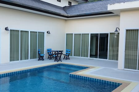 5 bedroom Pool Villa-rent WHOLE COMPLEX-not shared - กะทู้